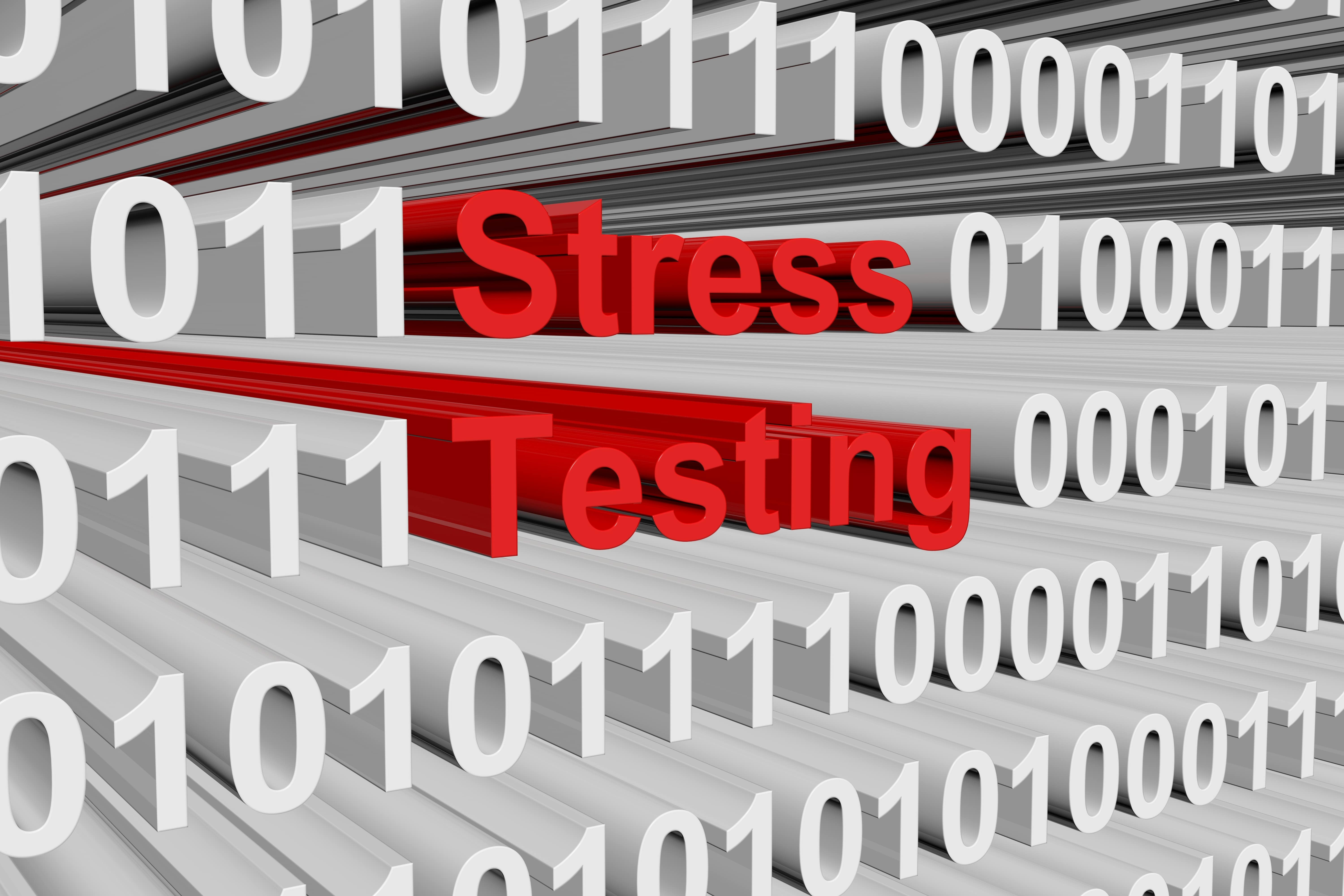 stress testing letters with ones and zeros