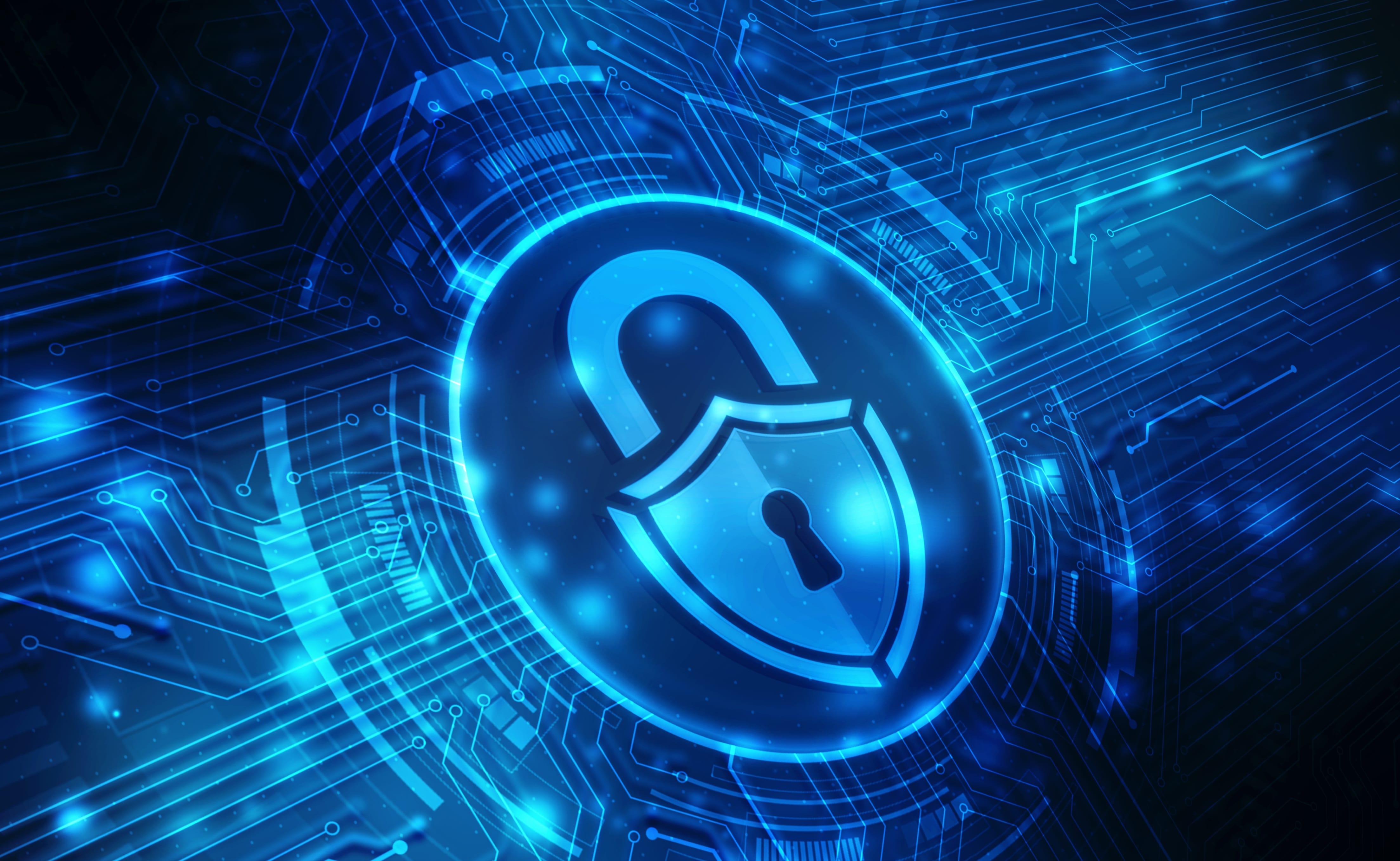 digital padlock with privacy shield